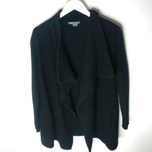 VINCE Yak Wool blend Black Chunky Knit Women's Dra